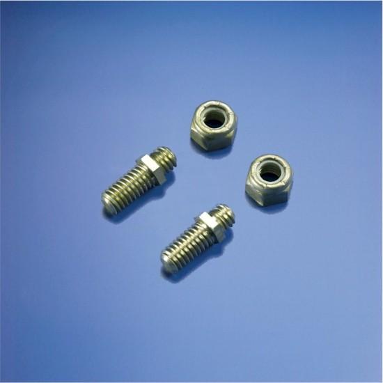 Duraflex Roller Clamp Stud with Lock Nut