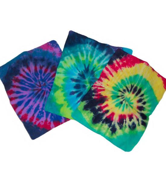Tye-Dye Aqua Towel