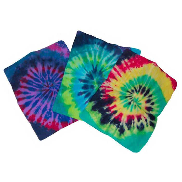 Tye Dye Aqua Towels