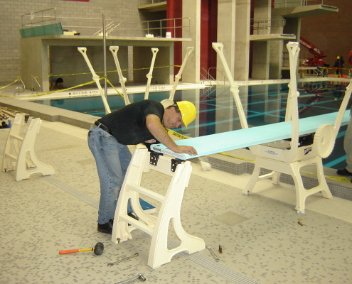 Diving Board Installation
