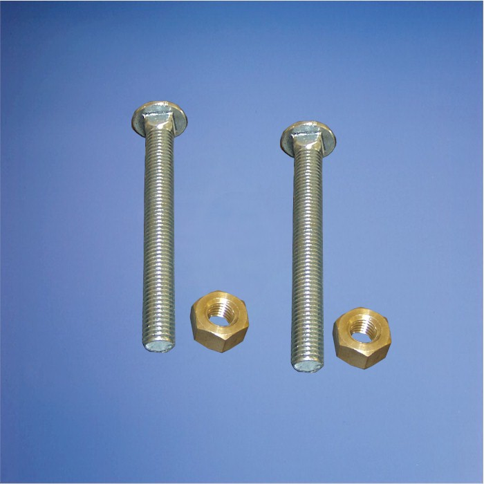 Zinc Plated Steel Diving Board Bolt And Nut