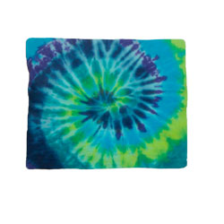 Double Sized Tye-Dye Aqua Towel