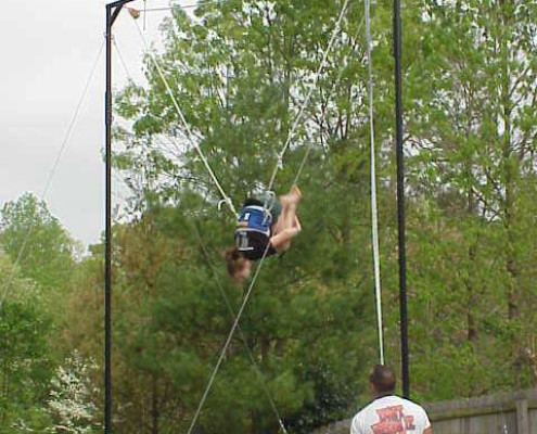 Trampoline Spotting Rig