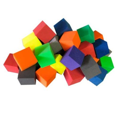 Fire Retardant Square Foam Cubes