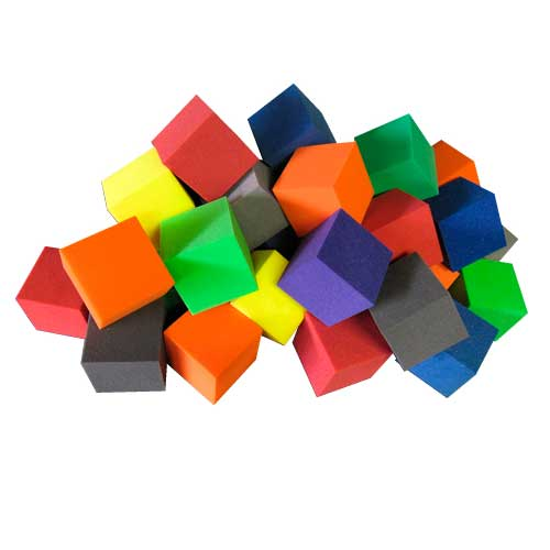 Fire Retardant Foam Cubes