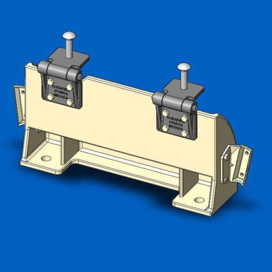 Short Stand Anchor Assembly For Stands With Guardrails