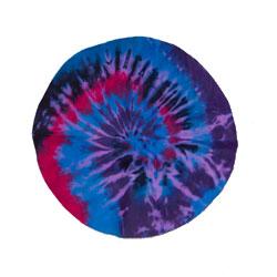 Round Tye-Dye Divers Shammy