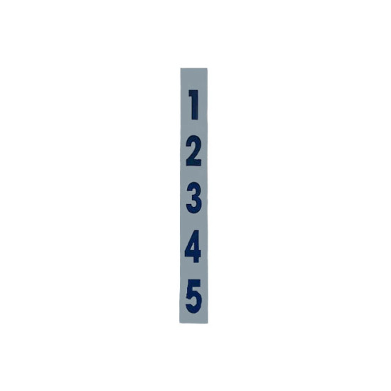 Double Sided Spotting Banner with Numbers
